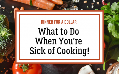 What to Do When You're Sick of Cooking